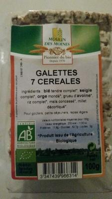 Galettes 7 céréales - Product