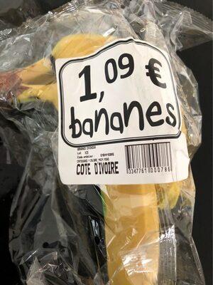 Banane cavendish - Produit - fr