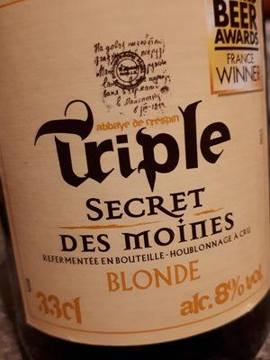 Triple Secret des Moines - Produit