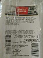 Jambon cuit de Paris - Product - fr