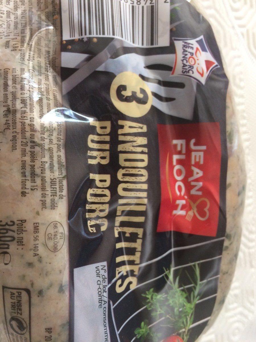 Andouillette pur porc - Product - fr