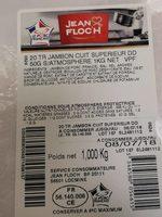 Jambon blanc - Product - fr