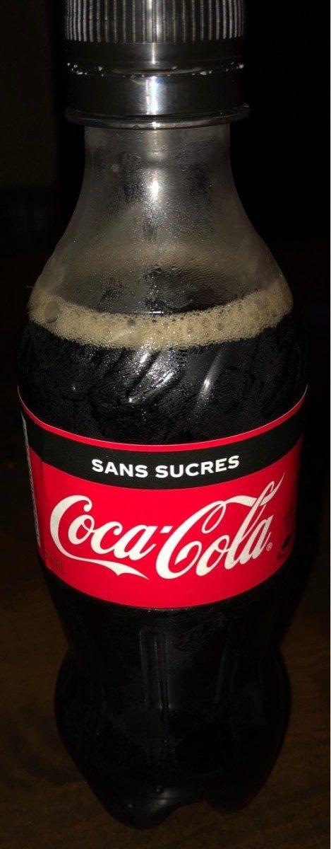 Coca-cola sans sucre - Produit