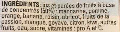 Le Nectar Vita' Boost - Ingrediënten - fr