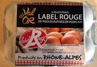 œufs - Product