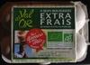 6 Oeufs extra frais de poules élevées en plein air - Produit
