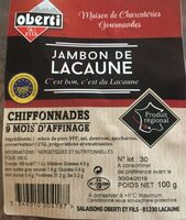 Jambon de lacaune - Product - fr