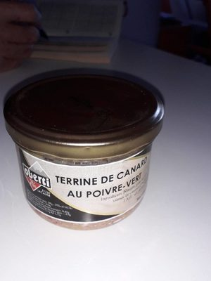 Terrine canard poivre vert - Produit - fr