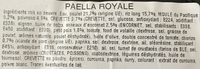 Paëlla royale - Ingredients