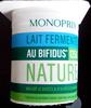 Lait fermenté au bifidus nature - Product