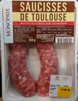 Saucisses de Toulouse - Product - fr