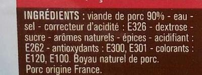 Saucisses de Toulouse - Ingredients - fr