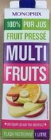 100% Pur Jus Fruit Pressé Multi Fruits - Product