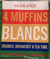 Muffins blancs - Produit - fr