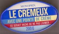 Le Crémeux - Fromage pâte molle au lait de vache pasteurisé - Product - fr