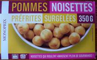 Pommes noisettes préfrites surgelées - Product - fr