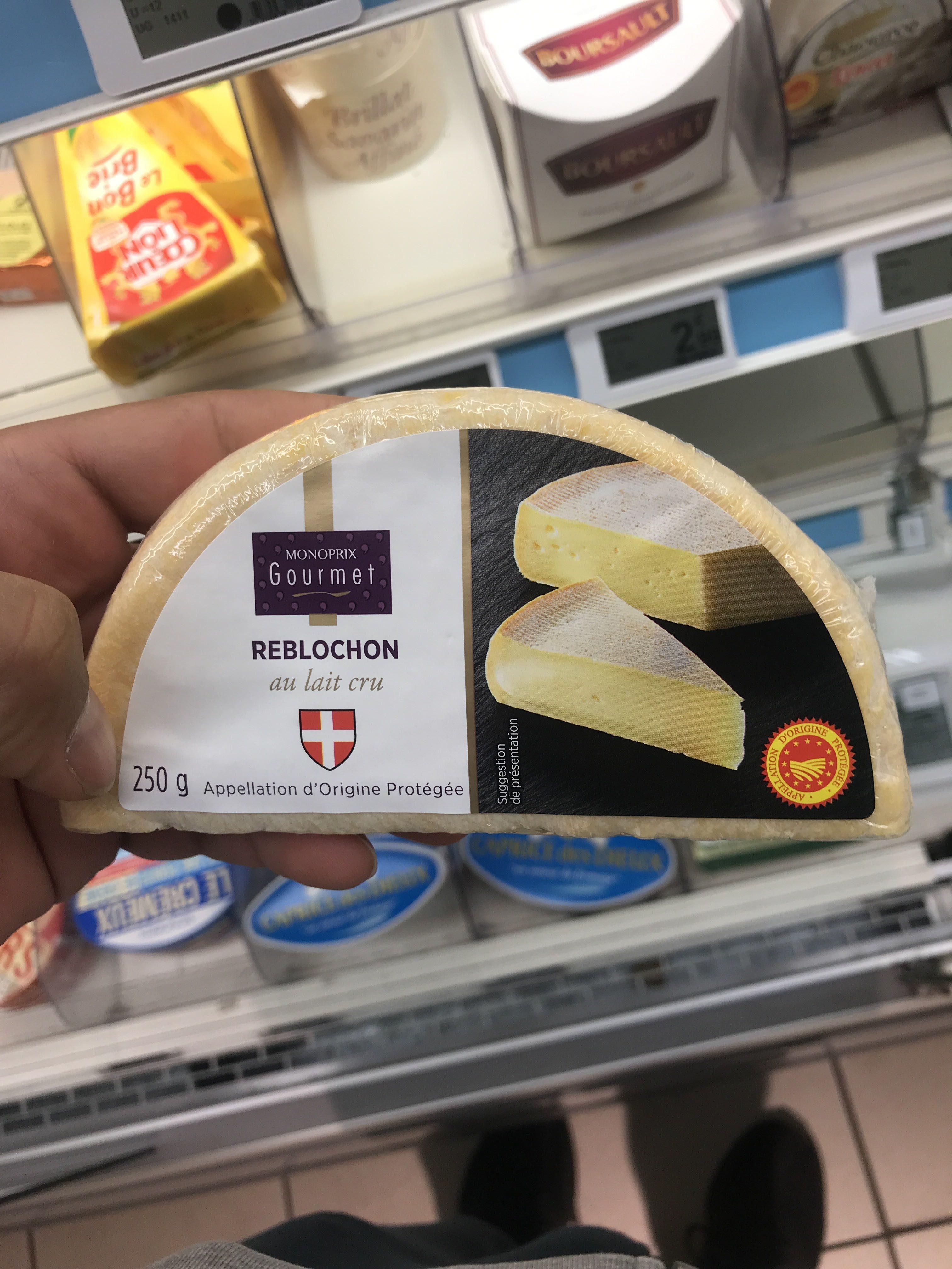 Reblochon de Savoie au lait cru, AOC - Product - fr