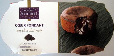 Coeur fondant au chocolat noir - Product - fr