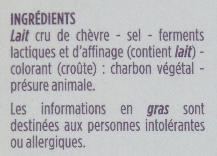 Selles-sur-Cher au lait cru - Ingredients - fr