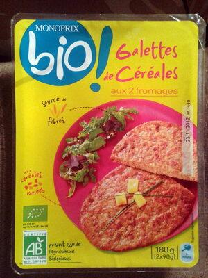 Galettes de Céréales aux 2 Fromages Bio - Product - fr