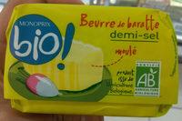 Beurre de baratte demi-sel - Product - fr