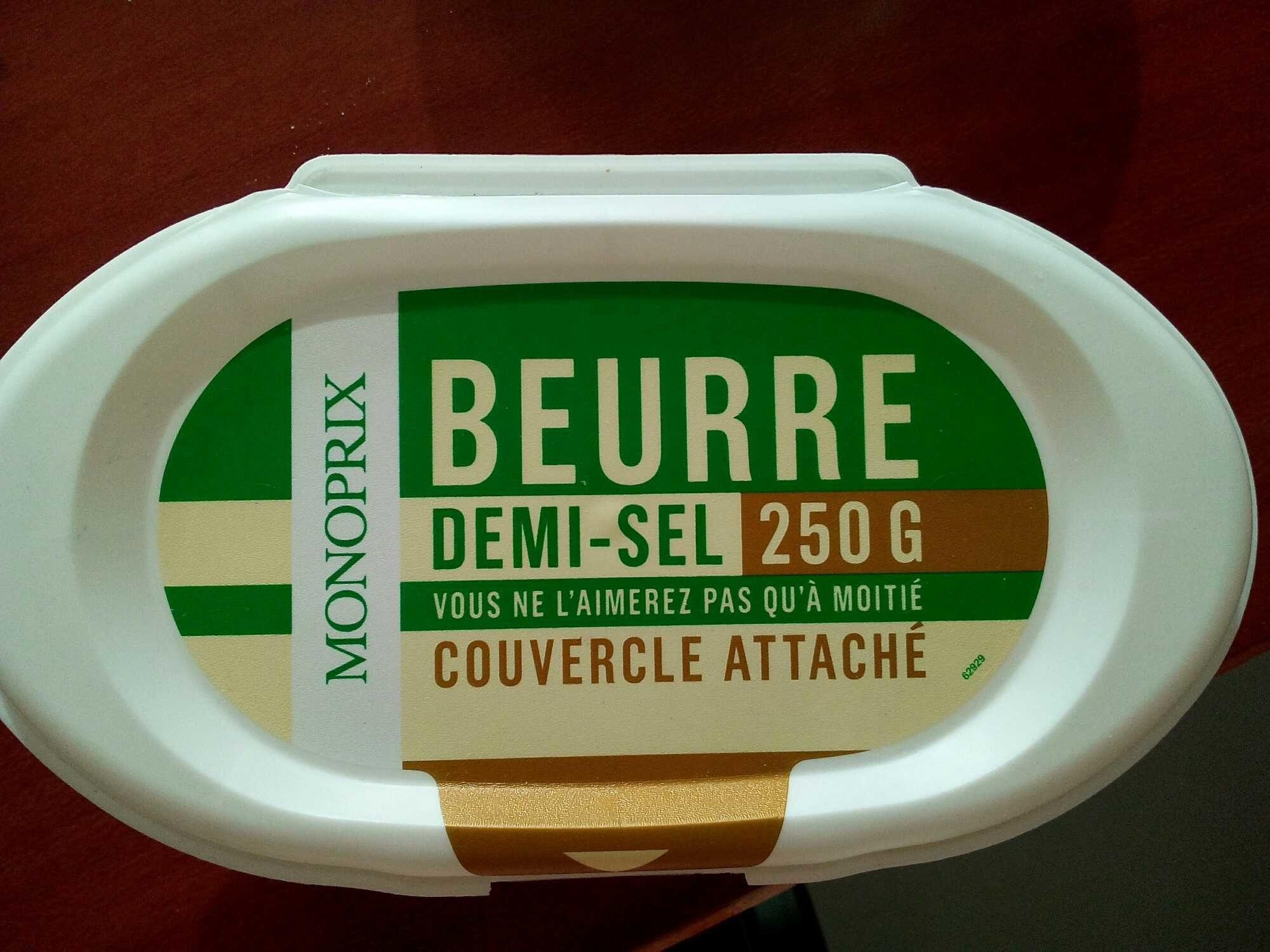 Beurre Demi-Sel - Produit