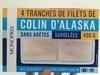 Colin d'Alaska sans arêtes surgelés - Product