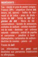 Nuggets de Poulet à grignoter - Ingrédients - fr