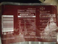Jambon sec salé au sel sec affiné 7 mois - Produit