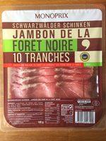 Jambon de la Forêt noire 10 tranches - Product - fr