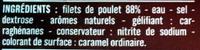 Blanc de Poulet, Doré au Four (4 tranches) - Ingrédients