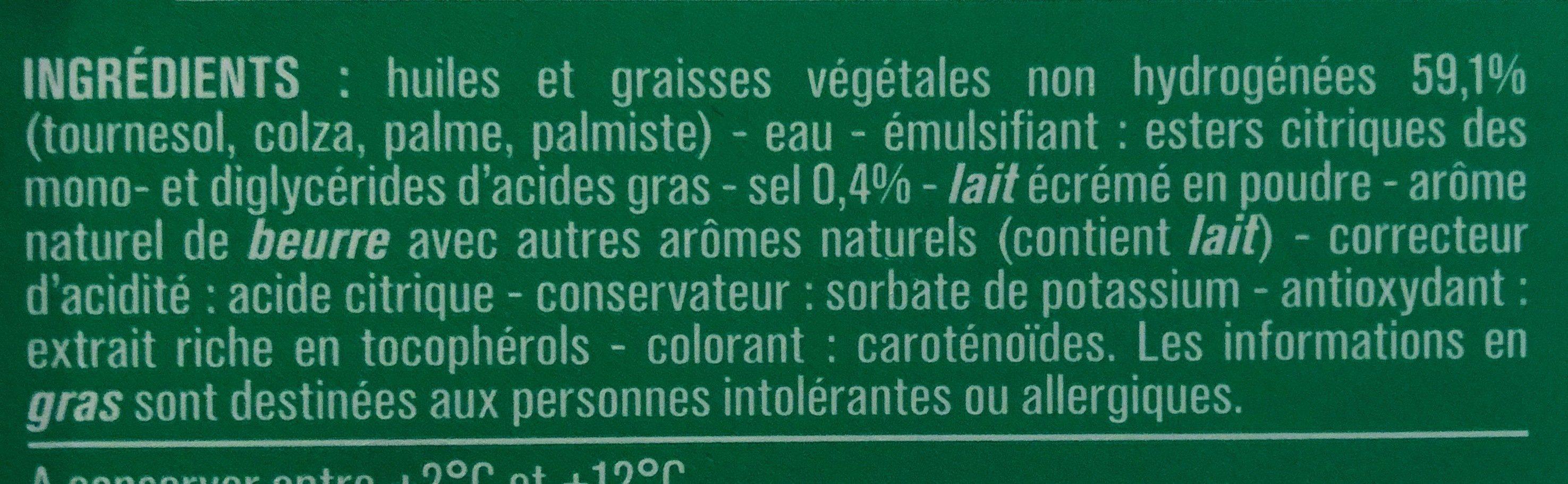 Cuisson et Tartine 60% MG - Ingrediënten - fr