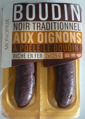 Boudin Noir Traditionnel aux Oignons - Product