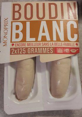 Boudins blancs - Produit - fr