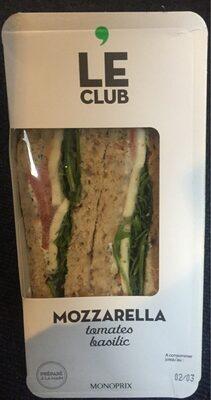 Sandwich Triangle Tomate Basilic Mozzarella - Product - fr