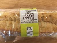 Le pavé jambon emmental - Product - fr