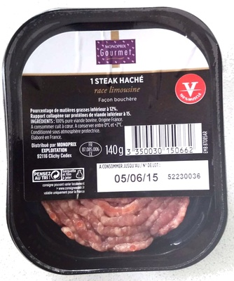 1 steak haché race limousine bouchère - Product