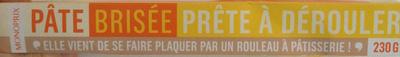 Pâte brisée prête à dérouler Monoprix - Prodotto - fr