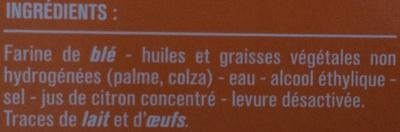 Pâte brisée prête à dérouler Monoprix - Ingredienti - fr