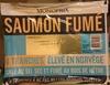 Saumon fumé élevé en Norvège - Produit