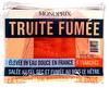 Truite fumée élevée en eau douce en France (4 tranches) - 120 g - Product