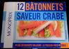 12 bâtonnets saveur crabe - Produit