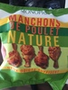 Manchons de poulet nature, rôtis au four - Product
