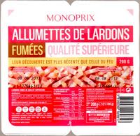 Allumettes de Lardons Fumées - Produit - fr