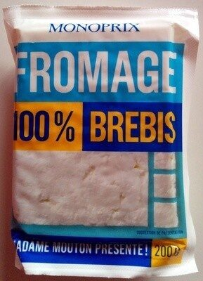 Fromage 100% brebis - Product - fr