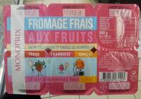 Petits suisses sucrés aux fruits - Product