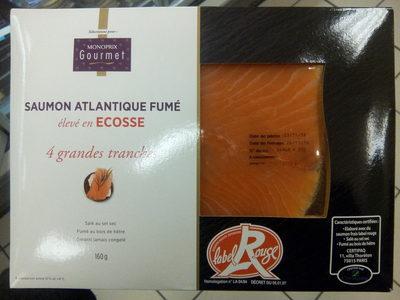 Label Rouge - SAUMON ATLANTIQUE FUMÉ - Product - fr