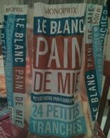 Pain de Mie - Le Blanc - Product - fr