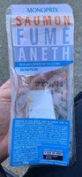 Saumon Fume aneth pain polaire - Produit - fr