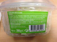 Céleri Râpé Sauce Rémoulade - Nutrition facts - fr